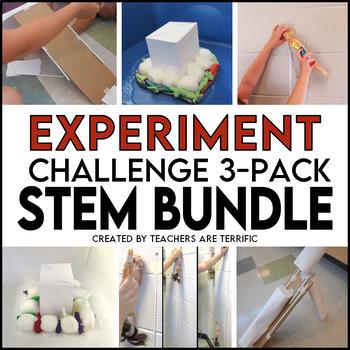 STEM Engineering Challenge Bundle of Experiment and Design Tasks