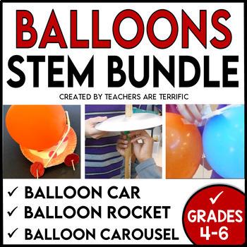 STEM Activities Challenge Bundle Using Balloons
