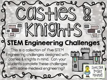 STEM Engineering Challenges Pack ~ Castles & Knights ~ Set