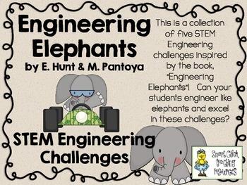 STEM Engineering Challenges Pack ~ Engineering Elephants ~