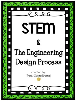 STEM & Engineering Design Process Signs and Graphic Organizers