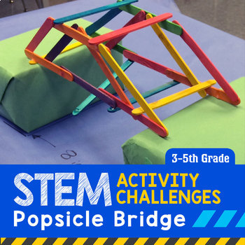 STEM Engineering Project: Building a Popsicle Bridge 3rd,