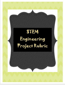 STEM: Engineering Project Rubric