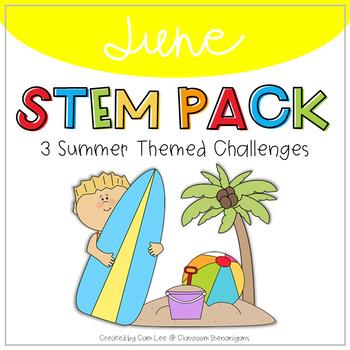 STEM June Summer Theme Pack