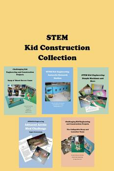 STEM Kid Construction COLLECTION 110+ Pages 20+ Hours