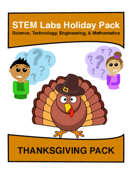 STEM Labs Pack - Thanksgiving Projects Pack of 10 Holiday-