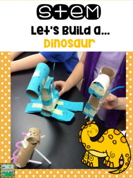 STEM: Let's Build A... Dinorsaur