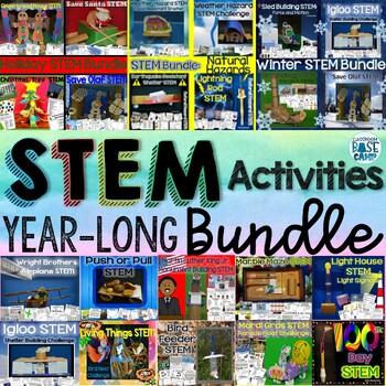 STEM Engineering Challenges - Mega STEM Bundle for the YEAR