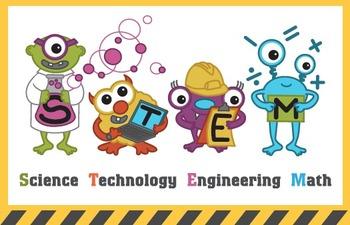 STEM Monster Poster