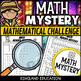 STEM Math Murder Mystery Case#1 A Math Challenge