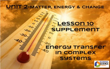 STEM/NGSS Lesson 10 HW Supplement: Energy Transfer in Comp