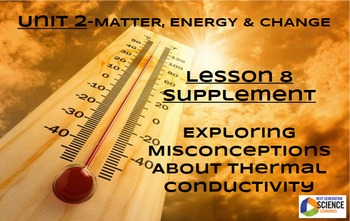 STEM/NGSS Lesson 8 Supplement: Misconceptions about Therma