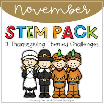 STEM November Thanksgiving Pack