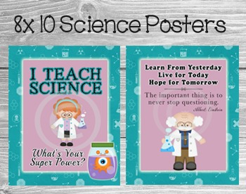 STEM Posters for Your Classroom