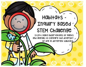 STEM - Problem Based Learning - Habitats