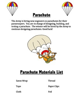 STEM Project Parachutes