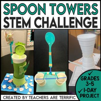 STEM Quick Challenge Spoon Towers