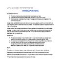 STEM SPANISH ASSIGNMENT - SKYSCRAPER HOTEL