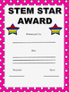 STEM STAR Awards - 7 Different Colours