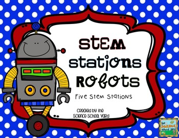 STEM/STEAM Robot Engineering Stations