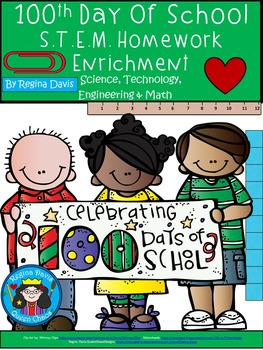 STEM Science, Technology, Engineering, Math: 100th Day of