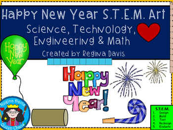 STEM Science, Technology, Engineering & Math: Happy New Year Art