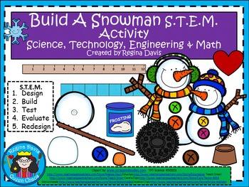 STEM Science, Technology, Engineering & Math: Snowman Building