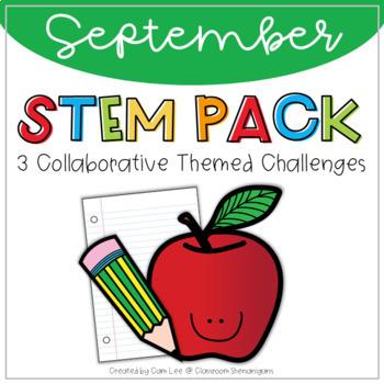 STEM September Back To School (Collaborative Learning) Pack
