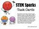 Maker Space Task Cards. MORE STEM Sparks.