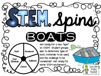 "Boats STEM Spins - A New ""Spin"" on STEM"