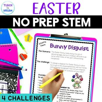 STEM Task Cards, STEAM Task Cards - Easter Theme: BUNDLE!