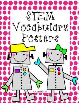 STEM Vocabulary Posters