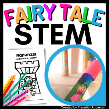 STEM activity - Rapunzel Engineers an Escape STEM tale