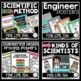 STEM and Science Ultimate Poster Bundle in Pink, Lime, and Teal