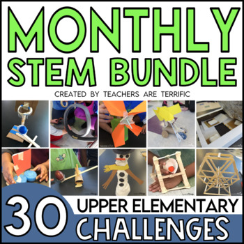 STEM Activities by the Month Bundle