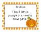 STEM challenge- 5 Little Pumpkins