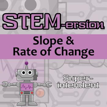 STEM-ersion -- Slope & Rate of Change -- Superintendent