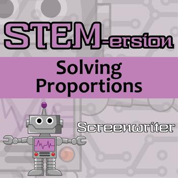 STEM-ersion -- Solving Percent Problems -- Screenwriter