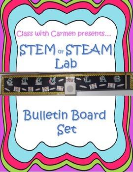 STEM or STEAM Lab Bulletin Board Set