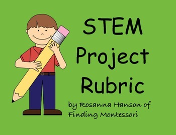 STEM project rubric for self-evaluation