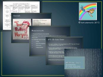 STI - STD- Class activity project - CD Case Cover