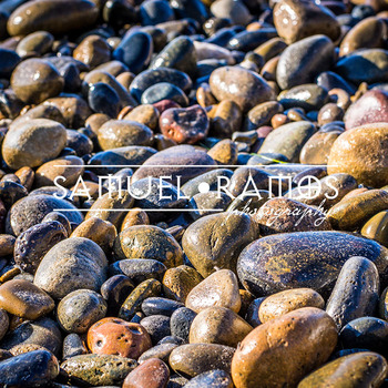 STOCK PHOTOS: Beach Wet Rocks Background [Personal & Comme