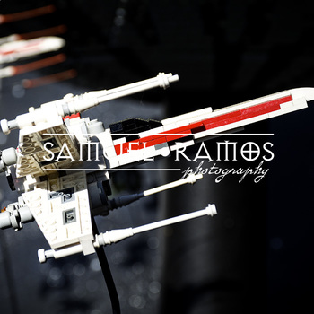 STOCK PHOTOS: Star Wars Lego Spaceship [Personal & Commerc