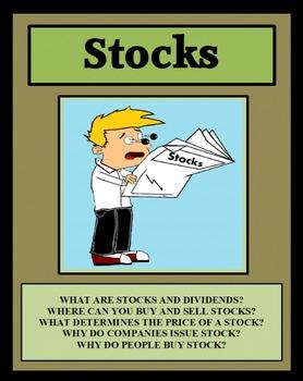 STOCKS, THE STOCK MARKET, Economics, Personal Finance