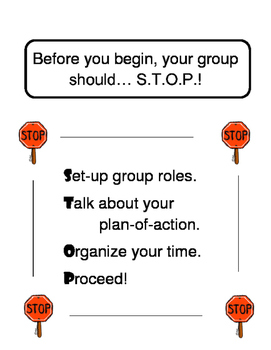 STOP Before You Start - Group Dynamics
