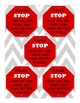 STOP Signs Classroom Management Tool