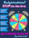 STOP! Teach THIS lesson before introducing telling time to