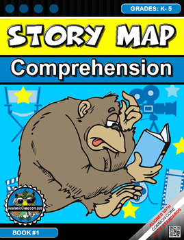 STORY MAPS GRAPHIC ORGANIZER TO USE WITH ANY BOOK (COMPREH