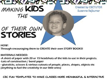 STORYBOOKING with KIDS - develop young writers from little!