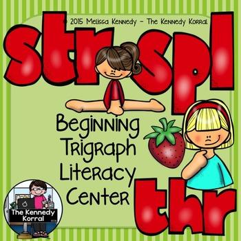 Trigraphs: STR, SPL, THR {Center, Cards, Mats & MORE!}